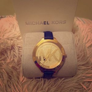 Authentic, Gold, Michael Kors watch